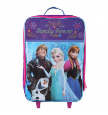 Girls' Frozen Cast Roller Suitcase Payless