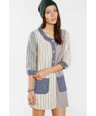 Manastash Baseball Shirt Dress..