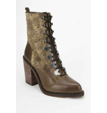 Luxury Rebel Mara Lace-Up Heeled Boot Urban Outfitters