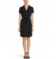 Cap Sleeve Woven Shirt Dress White House/Black Market