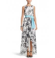 Floral High-Low Maxi Dress White House/Black Market