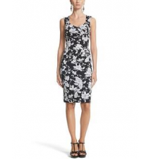 Instantly Slimming Floral Tank Dress White House/Black Market