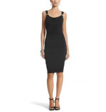 Cowl Neck Instantly Slimming Dress White House/Black Market