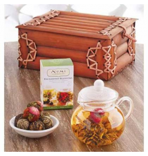 NUMI FLOWERING TEA SET World Market