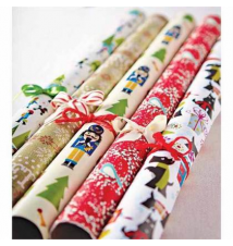 ALL HOLIDAY ROLL WRAPPING PAPER World Market