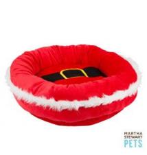Martha Stewart Pets Santa Belt Dog Bed PetSmart