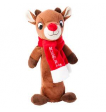 Rudolph The Red-Nosed Reindeer Rudolph Bottle Cruncher Dog Toy PetSmart