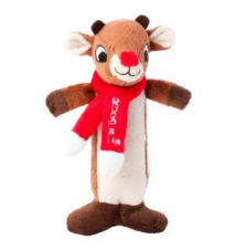 Rudolph The Red-Nosed Reindeer Rudolph Stick Dog Toy PetSmart