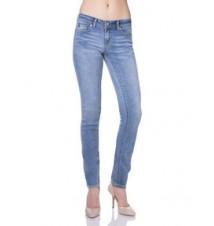 Multi Logo Skinny Fit Jean, Light Wash