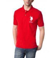 Pique Big Logo Polo Shirt