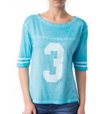 Washed Sport Jersey Tee
