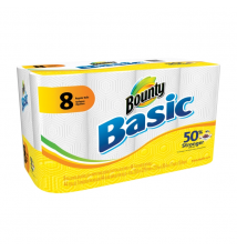 Bounty® Basic Paper Towel 8/Pk. or Charmin® Basic Bathroom Tissue 12/PkACE Hardware