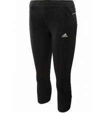 adidas Women's Sequencials Three-Quarter Running Tights Sports Authority