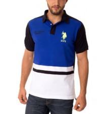 Big Logo Rubber Patch Polo Shirt