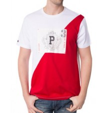 125th Anniversary Diagonal Colorblock Tee
