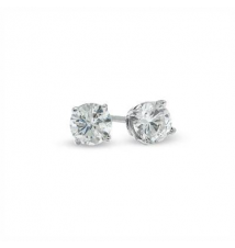5/8 CT. T.W. Diamond Solitaire Stud Earrings in 14K White Gold Zales