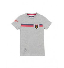 Boys Crew Neck Stripe 125TH Anniversary Tee