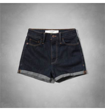 A&F Natural Waist Short-Shorts Abercrombie & Fitch