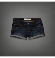 A&F Low Rise Short-Shorts Abercrombie & Fitch