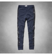 sequin side joggers Abercrombie Kids