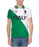 Slim Fit Team Italy Polo Shirt..