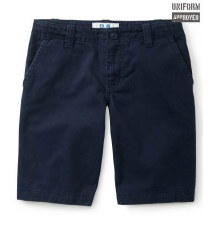 Kids' Flat-Front Uniform Shorts (Slim) Aeropostale