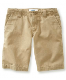 Kids' Flat-Front Uniform Short..