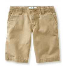 Kids' Flat-Front Uniform Shorts (Husky) Aeropostale