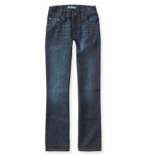 Kids' Dark Wash Bootcut Jean (Slim) Aeropostale