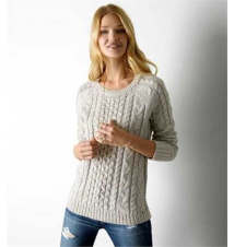 AEO Cable Knit Sweater American Eagle