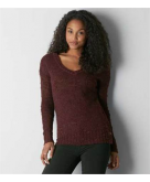 AEO Textured V-Neck Sweater Am..