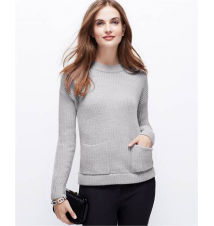 Petite Cozy Pocket Sweater Ann Taylor