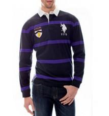 Long-Sleeve Stripe Ruby Shirt