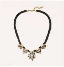 Twisted Rope Necklace Ann Taylor Loft