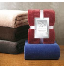 Ultra Soft Microplush Blanket Anna's Linens