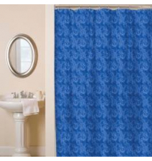 Watercolor Blue Shower Curtain Anna's Linens
