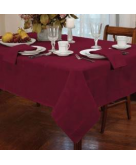 Elegance Burgundy Tablecloth A..