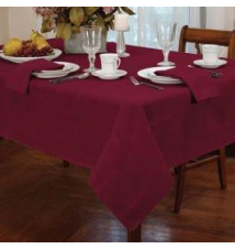 Elegance Burgundy Tablecloth Anna's Linens