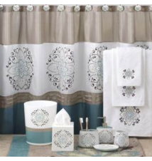 Medallion Fabric Bath Collection Anna's Linens
