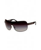 Unisex Metal Shield Sunglasses..