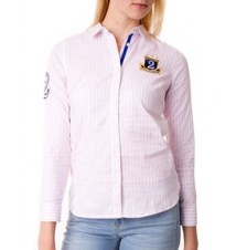 Patch Solid Oxford Shirt