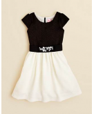 Zoe Girls' Pebble Knit Dress -..