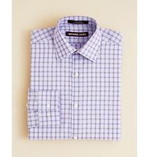 Michael Kors Boys' Check Button Down Shirt - Sizes 8-20 Bloomingdale's