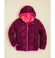 The North Face Girls' Reversible Down Moondoggy Jacket - Sizes XXS-XL Bloomingdale's