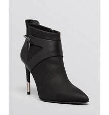 Dolce Vita Pointed Toe Booties - Isleen Harness High Heel Bloomingdale's