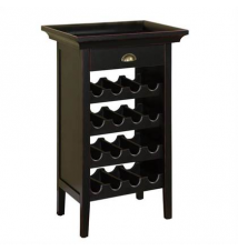 Powell Cabinet Wine Rack Brookstone