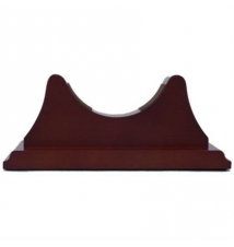 Weems & Plath Single Mahogany Base for Atlantis & Martinique Brookstone