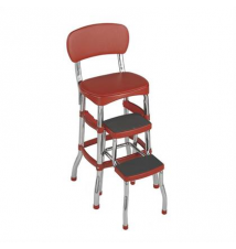 Cosco Retro Counter Chair/Step Stool Brookstone