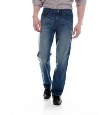 Classic Straight Fit Jean, Dark Medium Wash