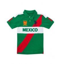 Boys Mexico Diagonal Polo